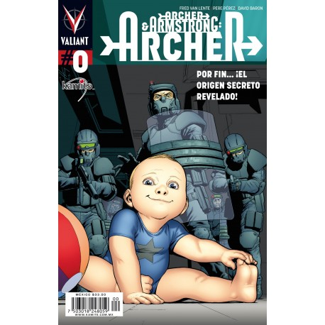 ARCHER AND ARMSTRONG (ARCHER) 0