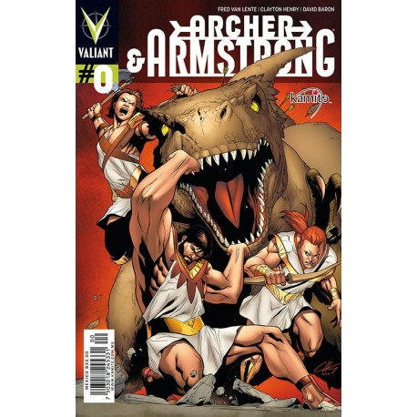ARCHER AND ARMSTRONG N° 0
