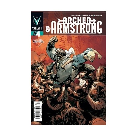 ARCHER AND ARMSTRONG N° 4
