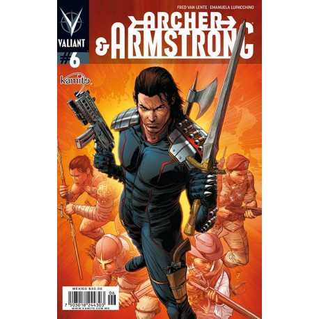 ARCHER AND ARMSTRONG N°6