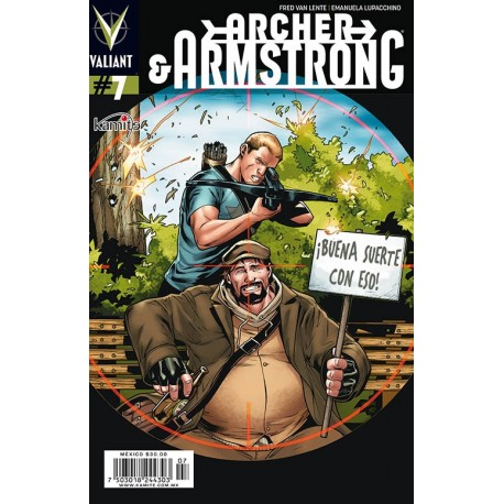ARCHER AND ARMSTRONG N° 7