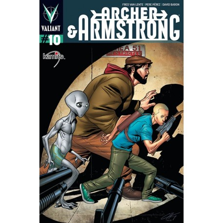 ARCHER AND ARMSTRONG N° 10