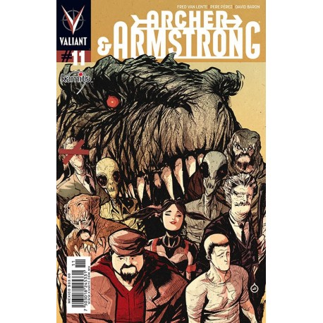 ARCHER AND ARMSTRONG N° 11
