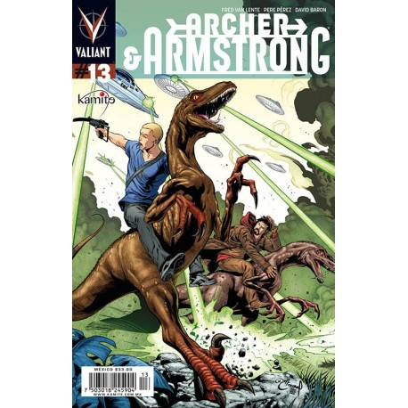 ARCHER AND ARMSTRONG N° 13