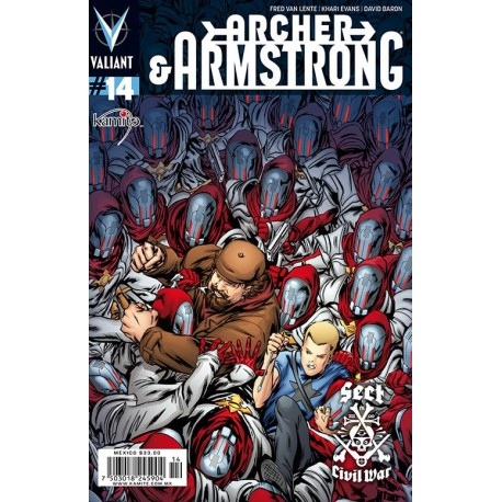ARCHER AND ARMSTRONG N° 14