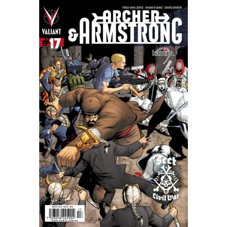 ARCHER AND ARMSTRONG N° 17