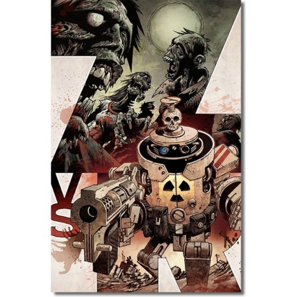 ZOMBIES VS ROBOTS N° 1-B
