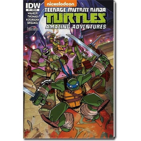 TENAGE MUTANT NINJA TURTLESAMAZING ADVENTURES N° 1-A