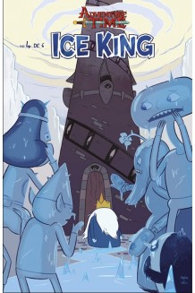 ADVENTURE TIME ICE KING N° 4