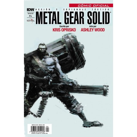 METAL GEAR SOLID N° 4