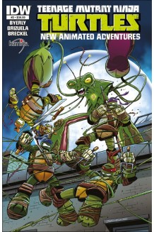TEENAGE MUTANT NINJA TURTLES A NEW ANIMATED  ADVENTURES N° 2-A