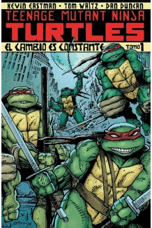 TEENAGE MUTANT NINJA TURTLES TOMO 1