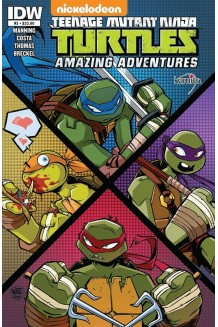 TEENAGE MUTANT NINJA TURTLES AMAZING ADVENTURES N° 3-A