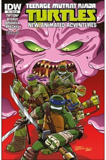 TEENAGE MUTANT NINJA TURTLES A NEW ANIMATED  ADVENTURES N° 3-A