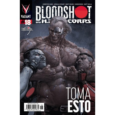 BLOODSHOT N° 18