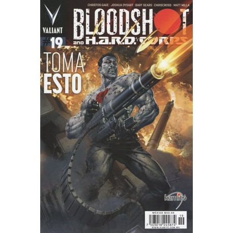 BLOODSHOT N° 19