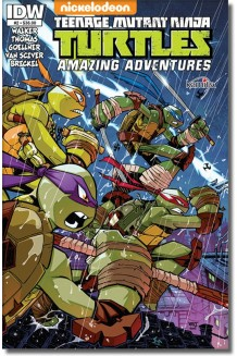 TEENAGE MUTANT NINJA TURTLES AMAZING ADVENTURES N° 2-A