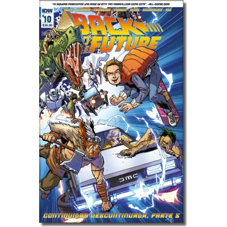BACK TO THE FUTURE N° 10-A