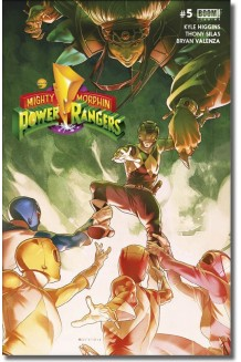 MIGHTY MORPHIN POWER RANGERS N° 5-A