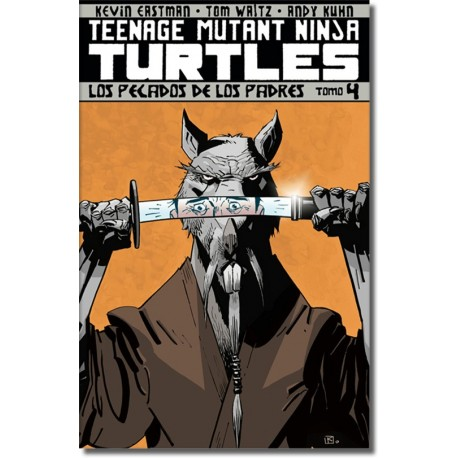 TEENAGE MUTANT NINJA TURTLES TOMO N° 4