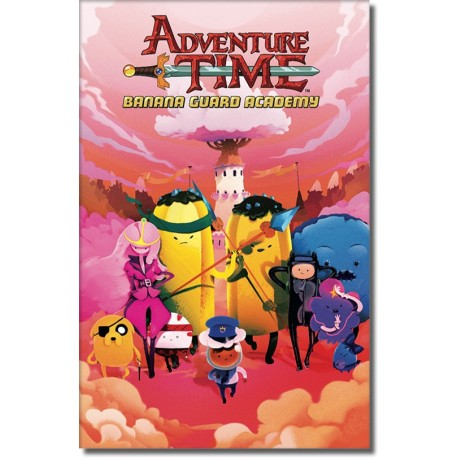ADVENTURE TIME BANANA GUARD ACADEMY N° 1