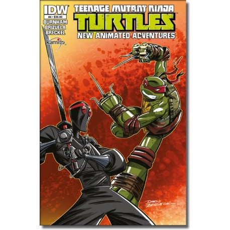 TEENAGE MUTANT NINJA TURTLES A NEW ANIMATED  ADVENTURES N° 4-A