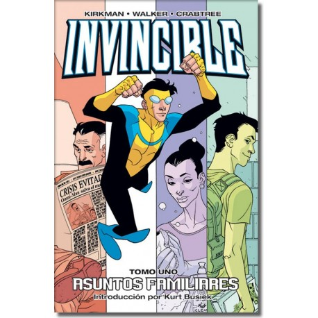INVINCIBLE TOMO N°1