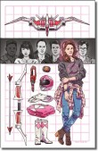 MIGHTY MORPHIN POWER RANGERS: PINK N° 5-B