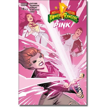 MIGHTY MORPHIN POWER RANGERS: PINK N° 6-A