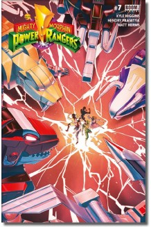 MIGHTY MORPHIN POWER RANGERS N° 7