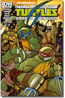 TEENAGE MUTANT NINJA TURTLES AMAZING ADVENTURES N° 5