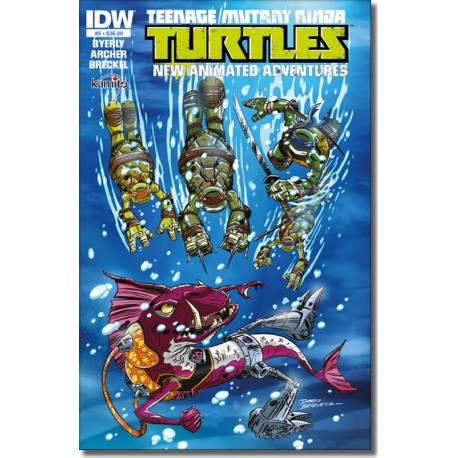 TEENAGE MUTANT NINJA TURTLES A NEW ANIMATED  ADVENTURES N° 5-A