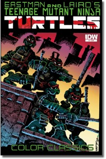 TEENAGE MUTANT NINJA TURTLES COLOR CLASSICS N° 1-A