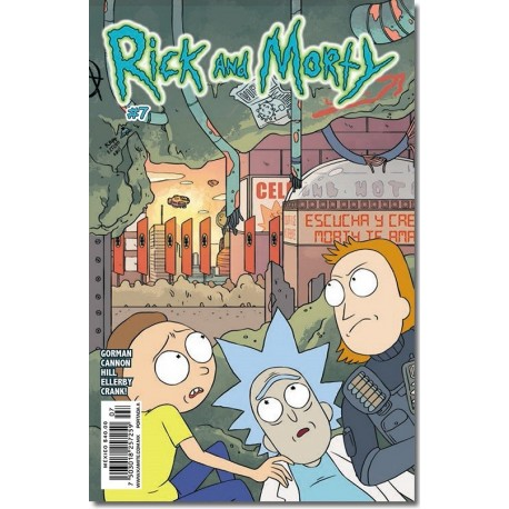 RICK AND MORTY N° 7-A