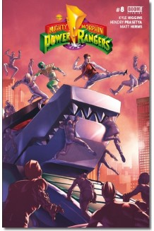 MIGHTY MORPHIN POWER RANGERS N° 8-B
