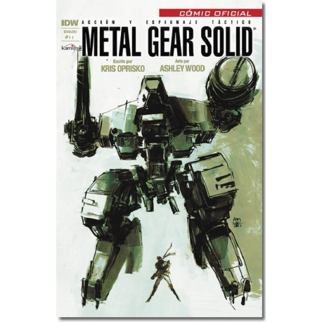 METAL GEAR SOLID N° 11