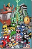 POWER RANGERS  N° 3-E