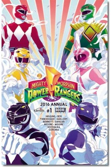 POWER RANGERS MM 2016 ANUAL 1-B