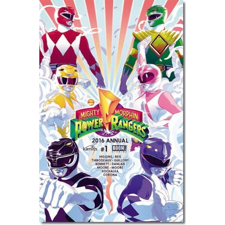 POWER RANGERS MM 2016 ANUAL 1-A