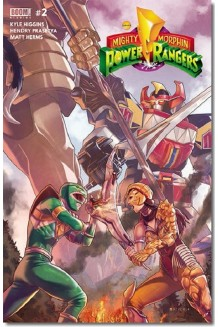 POWER RANGERS  N° 2-A