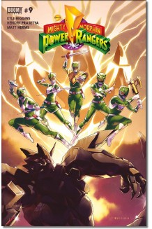 MIGHTY MORPHIN POWER RANGERS N° 9