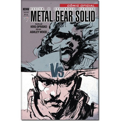 METAL GEAR SOLID N° 12