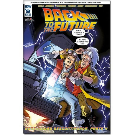 BACK TO THE FUTURE N° 9-A