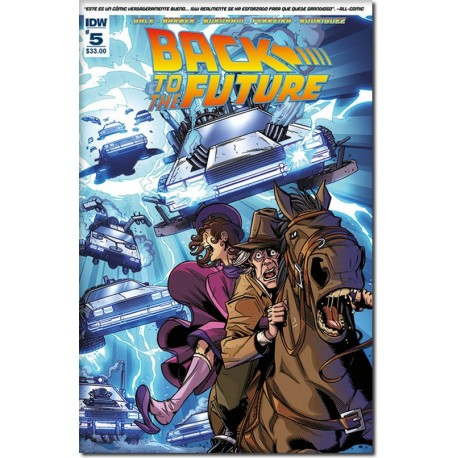 BACK TO THE FUTURE N° 5-A