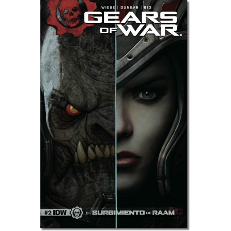 GEARS OF WAR  N° 2-A (PORTADA MATE)