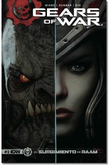 GEARS OF WAR  N° 2-A (PORTADA BRILLANTE)