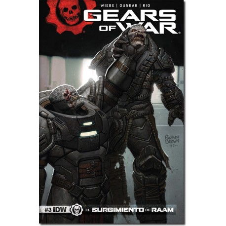 GEARS OF WAR  N° 3-A (PORTADA BRILLANTE)