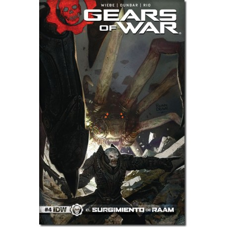 GEARS OF WAR  N° 4-A (PORTADA BRILLANTE)