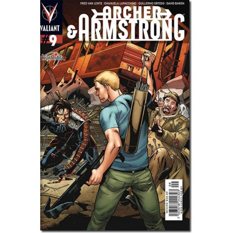 ARCHER AND ARMSTRONG N° 9