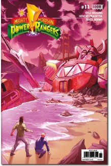 MIGHTY MORPHIN POWER RANGERS N° 11-A